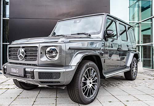 Mercedes Rückruf - Modell G-Klasse